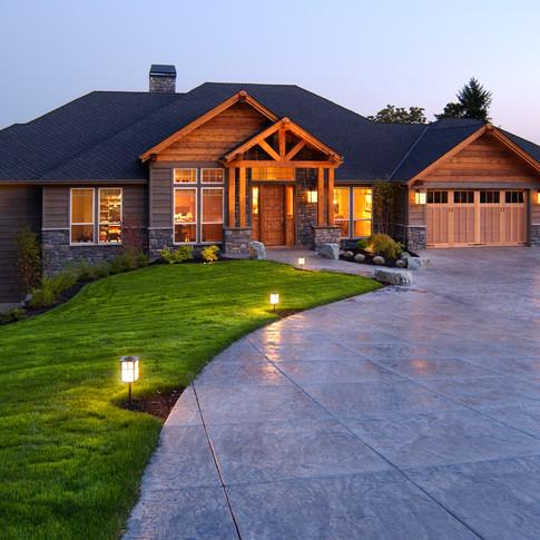 Craftsman Estate in Sherwood, Oregon by real estate photographer Timothy Park
