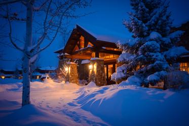 Winter at Pronghorn Resort in Bend, Oregon