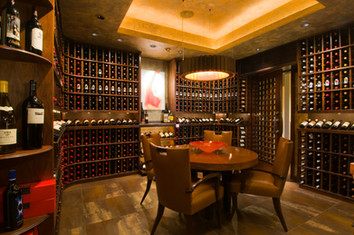 Magnificent Wine Cellar by architecture photographer Timothy Park