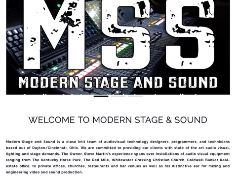 Modern Stage and Sound