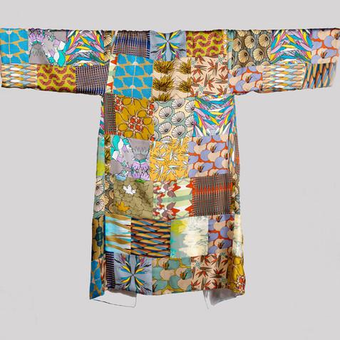 4 length silk patchwork kimono robe.jpg