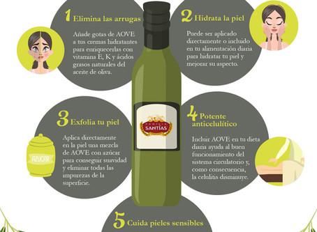 Beneficios del aceite de oliva para la piel