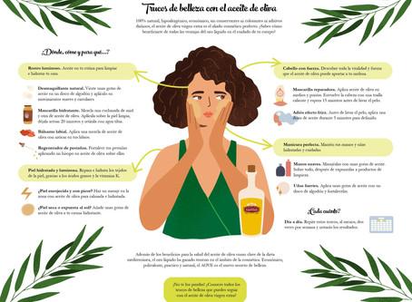 Trucos de belleza con el aceite de oliva