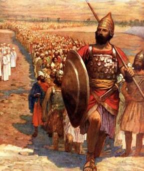 Poole on 1 Samuel 4:2:  Israel Defeated by Philistia!