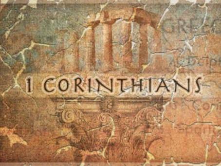 Heidegger's Bible Handbook: 1 Corinthians: Chapter Summary