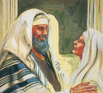 Poole on 1 Samuel 1:17:  Eli's Blessing of Hannah