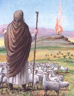 Poole on Exodus 3:1:  Moses, Prince and Shepherd