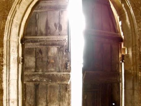 Poole on Revelation 3:8:  An Open Door