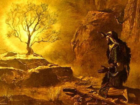 Poole on Exodus 3:3-5:  Moses on Holy Ground
