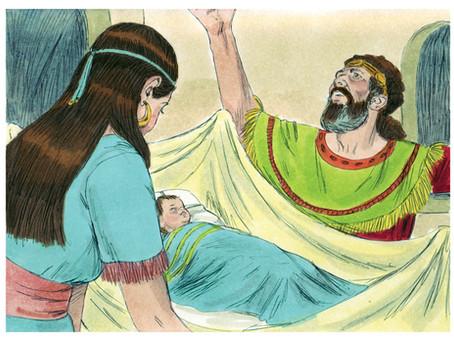 Poole on 1 Samuel 1:20:  The Birth of Samuel