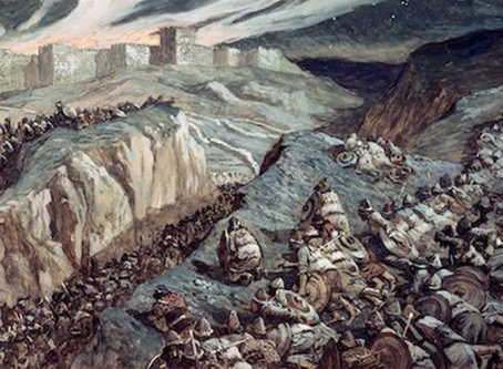 Judges 20:31-34: The Third Battle at Gibeah: Springing the Trap