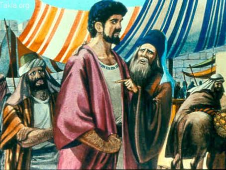 Poole on 1 Samuel 9:22-24: Saul at Samuel's Feast