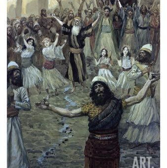 Poole on 1 Samuel 10:9-12: Saul among the Prophets