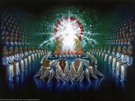 Poole on Revelation 7:11, 12:  Angelic Praise
