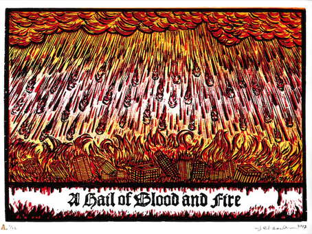 Poole on Revelation 8:7:  The First Trumpet