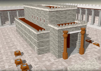Poole on Revelation 3:12, 13:  Living Pillars in God's Temple