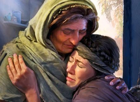 Ruth 3:16-18:  Ruth's Report to Naomi