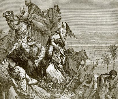 Judges 21:23-25:  Wives Stolen, Benjamin Rebuilt, Religious Confusion