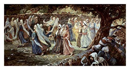 Judges 21:19:  The Dancing Girls of Shiloh