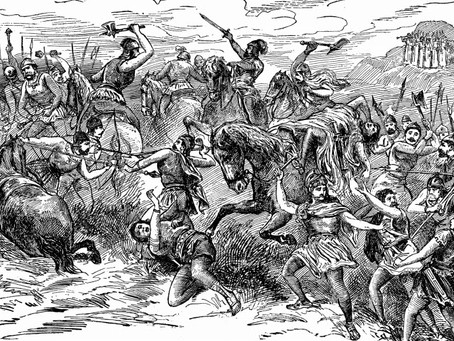 Judges 20:19-21:  The First Battle at Gibeah