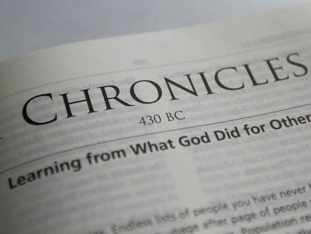 Heidegger's Bible Handbook: 1 Chronicles: Chapter Summary
