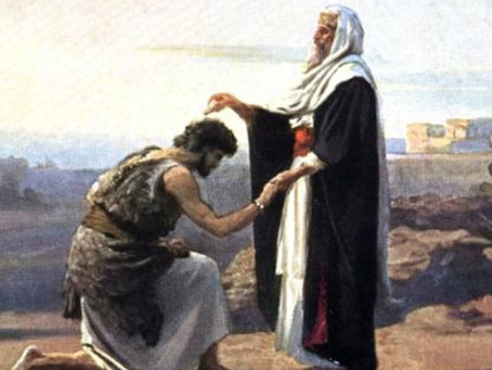 Poole on 1 Samuel 10:1:  The Anointing of Saul