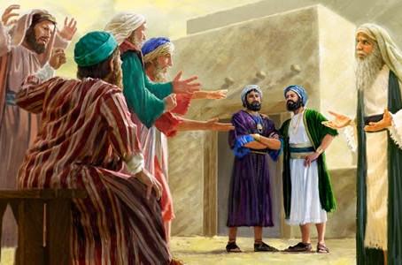 Poole on 1 Samuel 2:23, 24:  Eli's Rebuke of His Sons, Part 1