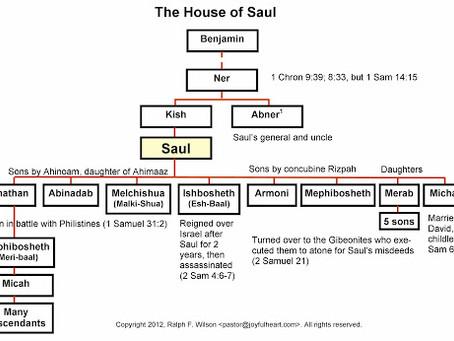Poole on 1 Samuel 9:1, 2:  The Genealogy of Saul