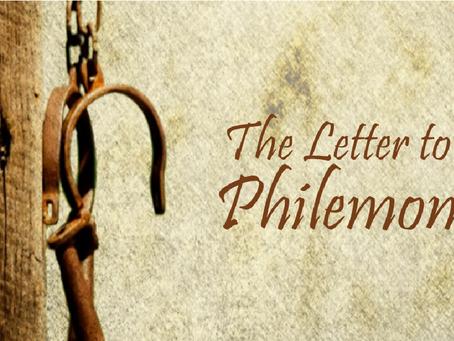 Heidegger's Bible Handbook: Philemon: Synoptic Outline