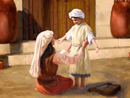 Poole on 1 Samuel 1:26-28:  Samuel Given Back to God