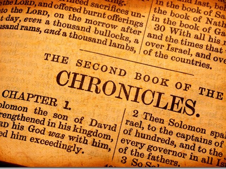 Heidegger's Bible Handbook: 2 Chronicles: Chapter Summary