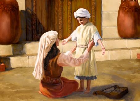 Poole on 1 Samuel 2:19:  The Faithfulness of Elkanah's House