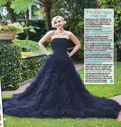 Philippa Galasso wedding dress vogue