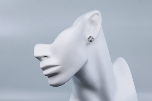 Halo Frosted Earrings