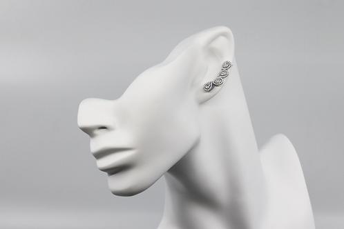 Teardrop Creeper Earrings