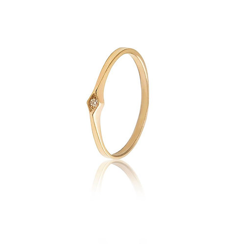 Ring 5 - Single/Double 14k Gold