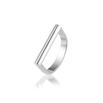 MADI sterlig siler ring