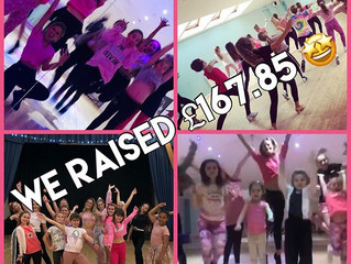 Pink Week...we raised £167.85!!