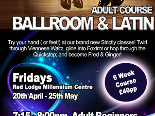 Red Lodge area Adult Ballroom Course is back!