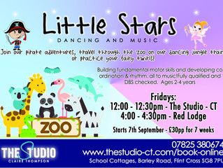 Little Stars - booking for the new term!