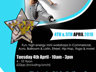 Workshops to keep you busy this Easter!