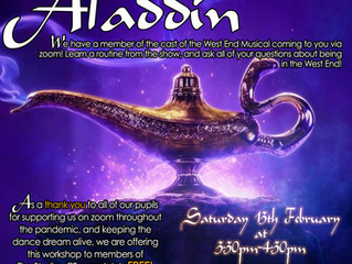 Aladdin Workshop!