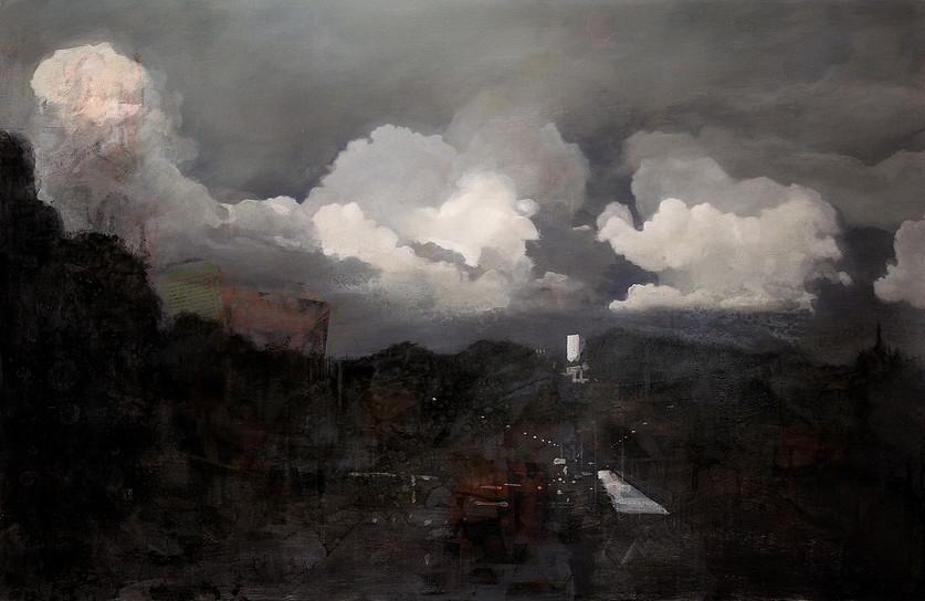 Wolken Grünwald