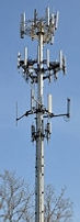 Electromagnetic radiation of cell phone tower