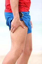 Curatron PEMF therapy for thigh injury