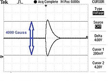 Gauss measurement on oscilloscope.jpg