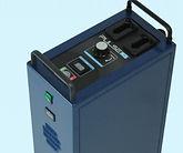 Pulse centers spark gap device