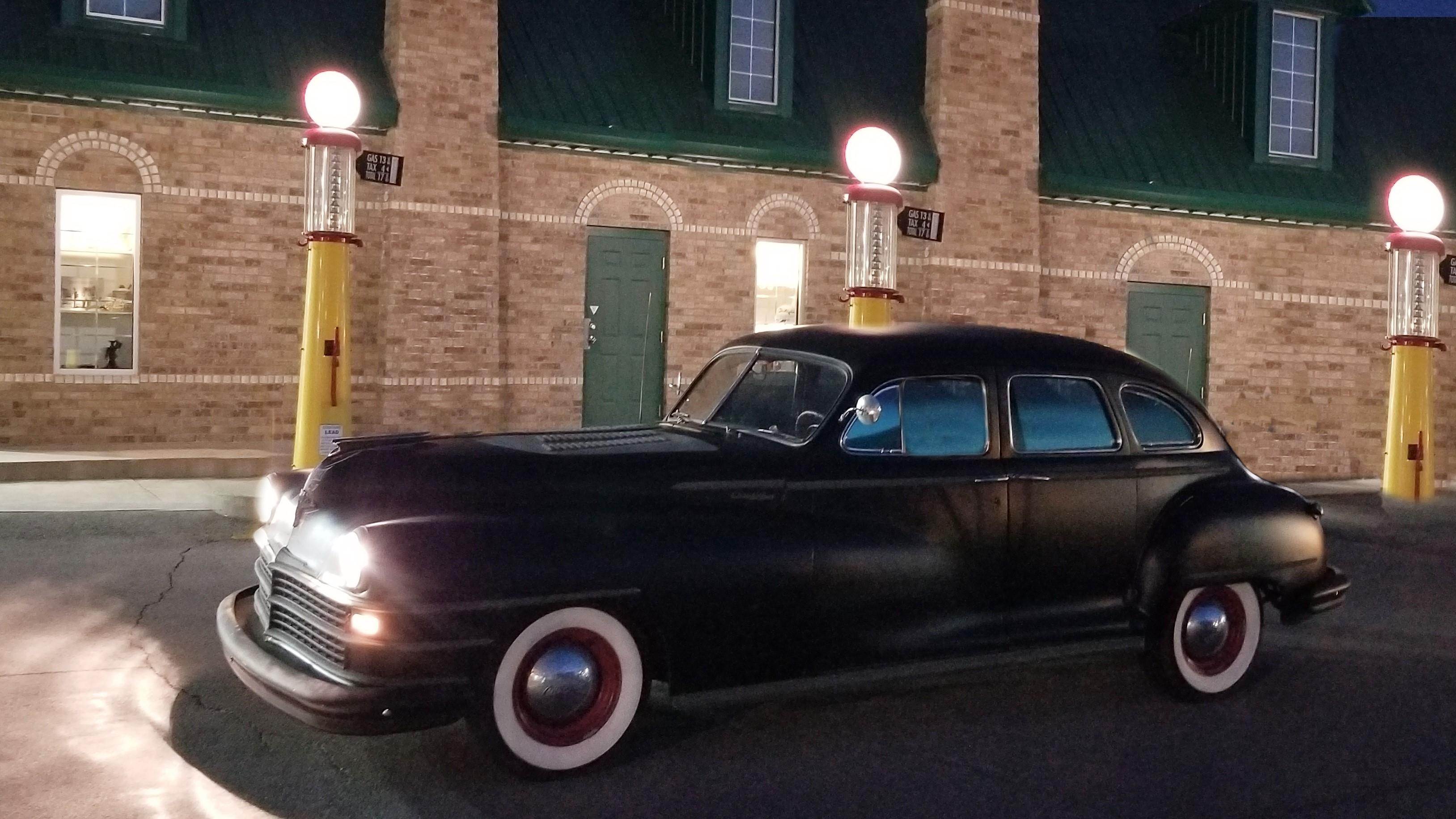 Classic Sendoff Car Getaway Car