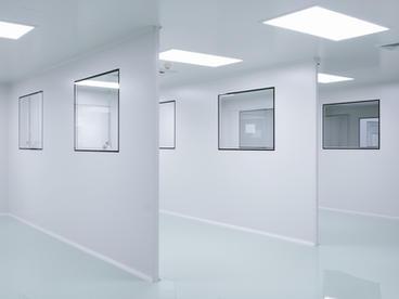 Salas blancas (zonas clasificadas A,B,C y D)