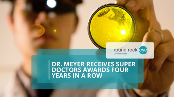 Dr. Meyer Receives Super Doctors Awards Four Years in A Row